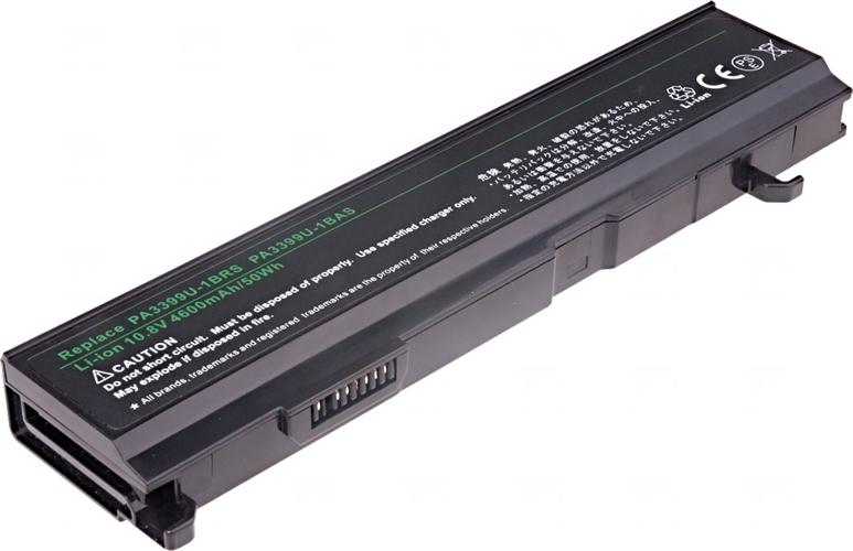 Baterie T6 power PA3399U-1BAS, PA3399U-1BRS, PA3399U-2BAS, PA3399U-2BRS