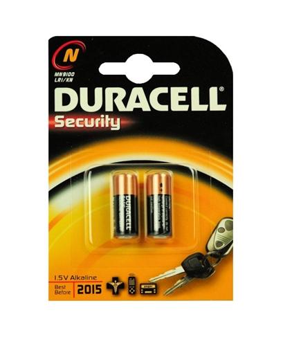Baterie Duracell LR1, LR01, 910A, E90, MN9100, L1129, 1,5V, blistr 2 ks