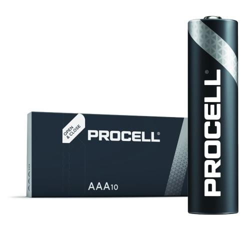 Baterie Duracell Industrial AAA, LR03, mikrotužková, 1,5V, 10 ks