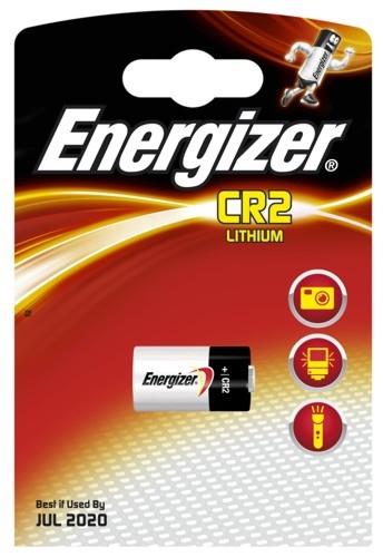 Baterie Energizer CR2, EL1CR2, DLCR2, 3V, 800mAh, blistr 1ks