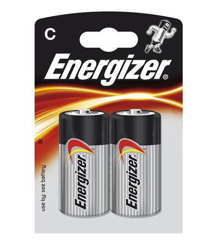 Baterie Energizer Base C, LR14, malé mono, 1,5V, blistr 2 ks