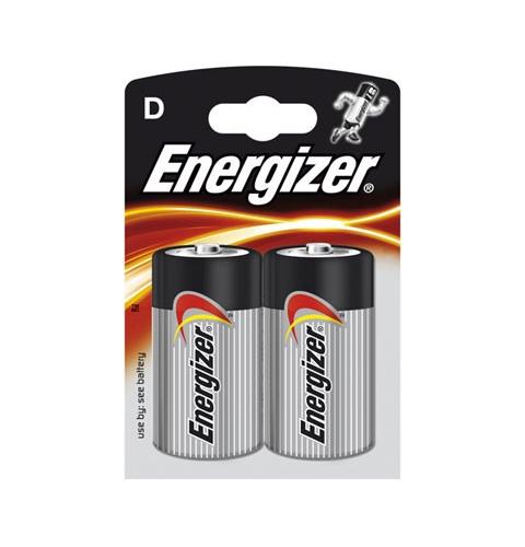 Baterie Energizer Base D, LR20, velké mono, 1,5V, blistr 2 ks