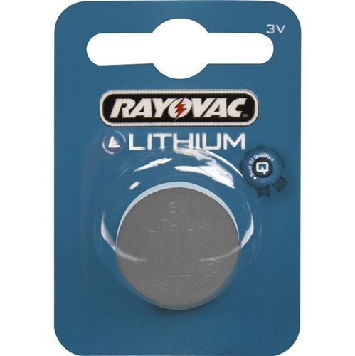 Baterie Rayovac CR1632, DL1632, BR1632, KL1632, LM1632, 3V, blistr 1 ks