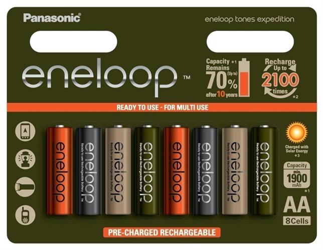 Baterie Panasonic Eneloop Ocean BK-3MCCE, AA 2000mAh, blistr 8ks