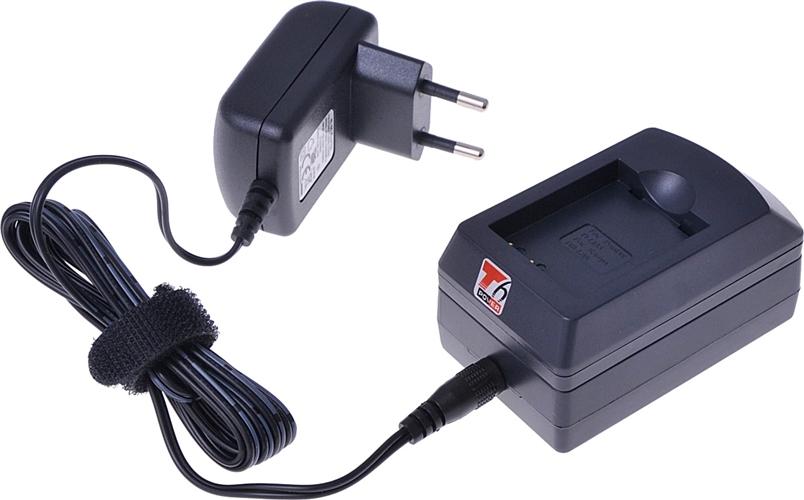Nabíječka T6 power pro Panasonic DMW-BCC12, CGA-S005E, CGA-S005, CGA-S005A, CGA-S005A/1B, IA-BP125A, NP-70, BP-DC4, BP-DC4-E, D-Li106, IA-BH125C, BP-41, 230V, 12V, 1A