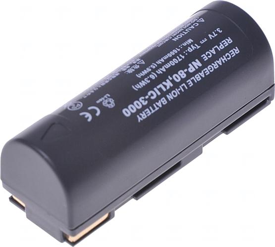 Baterie T6 power NP-80, DB-20, DB-20L, DB-30, PDR-BT1, KLIC-3000, NP-80