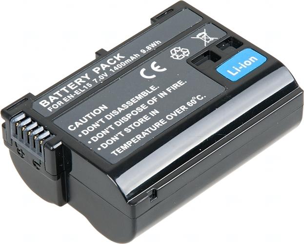 Baterie T6 power EN-EL15, EN-EL15a, EN-EL15e