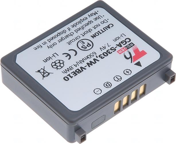 Baterie T6 power CGA-S303, VW-VBE10, CGA-S303/1B, CGA-S303E/1B