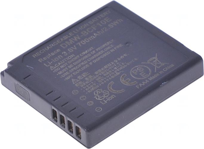Baterie T6 power DMW-BCF10, DMW-BCF10E, CGA-S/106C, DMW-BCF10GK