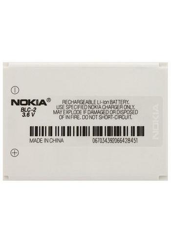 Baterie originál Nokia BMC-3, BLC-2, 1000mAh, bulk