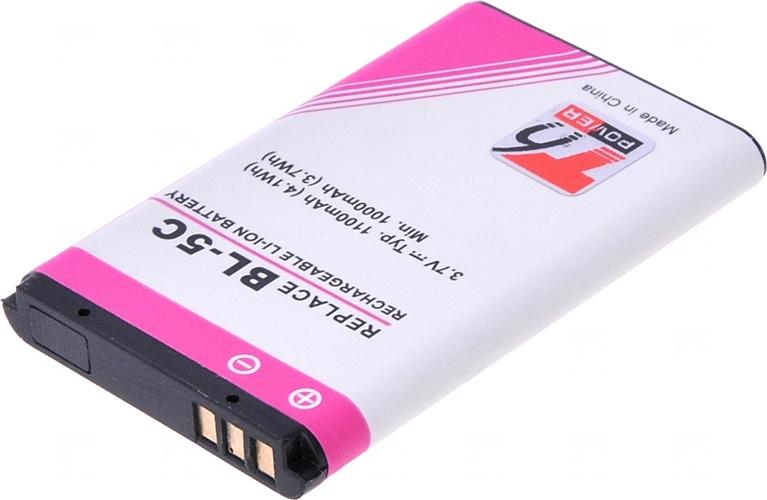 Baterie Accu pro Nokia 6300, 1100, 3650, 6230, Li-ion, 1300mAh