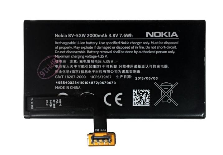 Baterie originál Nokia Lumia 1020, 909, Li-ion, 2000mAh, bulk