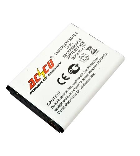 Baterie Accu pro Samsung Galaxy Note 2, Li-ion, 3300mAh