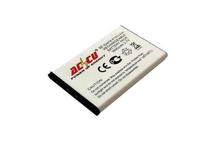 Baterie Accu pro Sony Ericsson Xperia X1, X10, Li-ion, 1600mAh