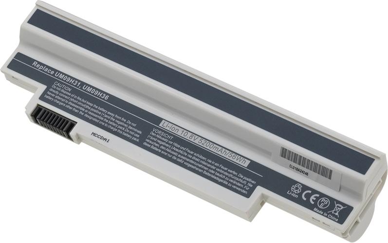 Baterie T6 power UM09H36, UM09H31, UM09H41, UM09H56, BT.00605.058, UM09G31, UM09G41, UM09G51, BT.00603.107, BT.00604.047, BT.00607.115, UM09G71, black