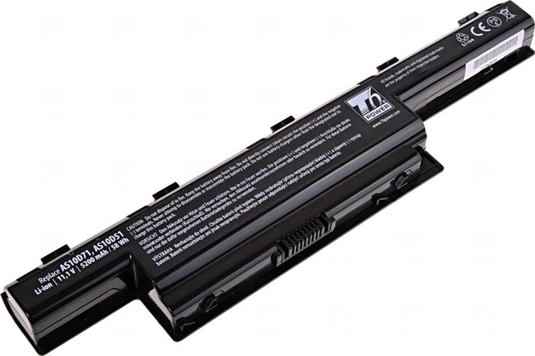 Baterie T6 power AS10D31, AS10D41, AS10D51, AS10D61, AS10D71, AS10D3E, AS10D73, AS10D75, BT.00603.111, BT.00603.117, LC.BTP00.123, AK.006BT.075