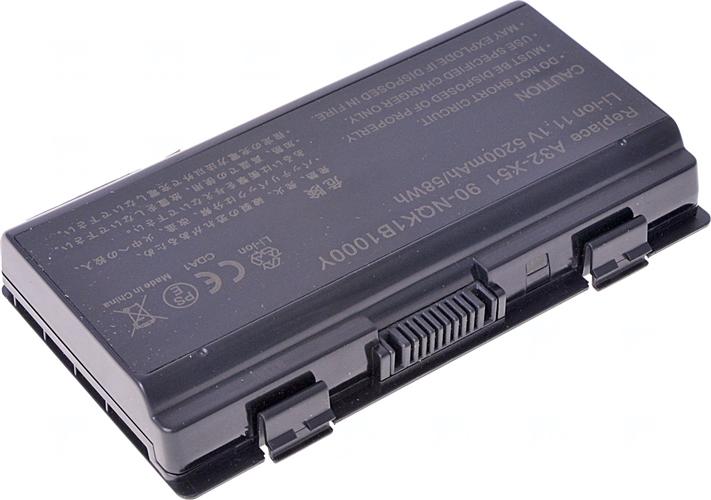 Baterie T6 power A32-X51, 90-NQK1B1000Y, A32-T12, 70-NQK1B1000Z