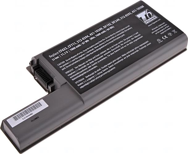 Baterie T6 power CF623, CF711, CF704, DF192, DF249, YD626, XD739, 312-0394, 312-0402, 312-0393, 312-0401, 451-10326