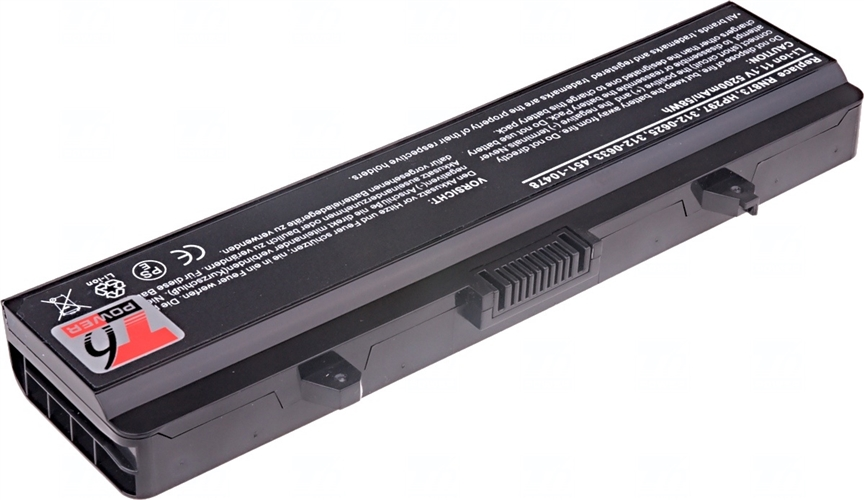 Baterie T6 power 312-0625, 312-0633, 451-10478, 451-10533, RN873, D608H, HP297