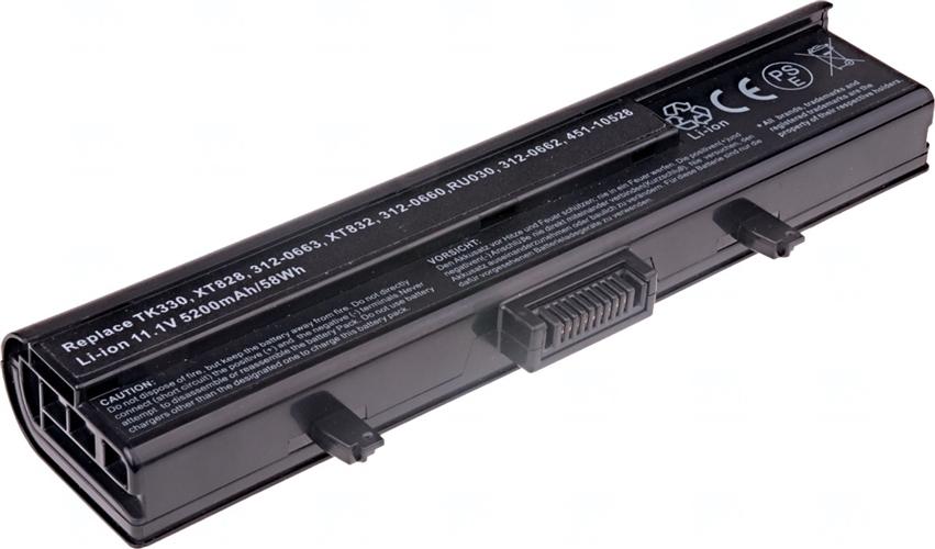 Baterie T6 power 451-10528, 312-0660, 312-0663, 312-0662, 312-0664, XT828, RU030, TK330, RU006