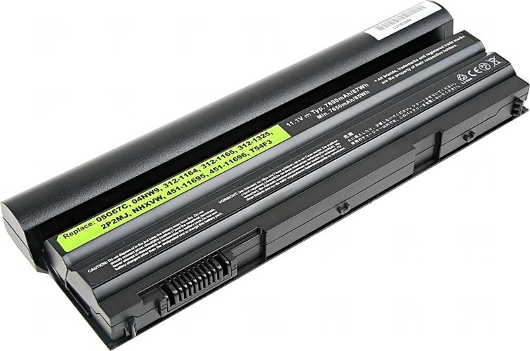 Baterie T6 power 451-11695, 451-11696, 312-1164, 312-1165, 312-1325, 05G67C, 8P3YX, HCJWT, 3W2YX, KJ321, M5Y0X, 5X317, P8TC7, P9TJ0, T54F3, T54FJ, WRP9M, YKF0M, GYKF8, HGKH0, NHXVW
