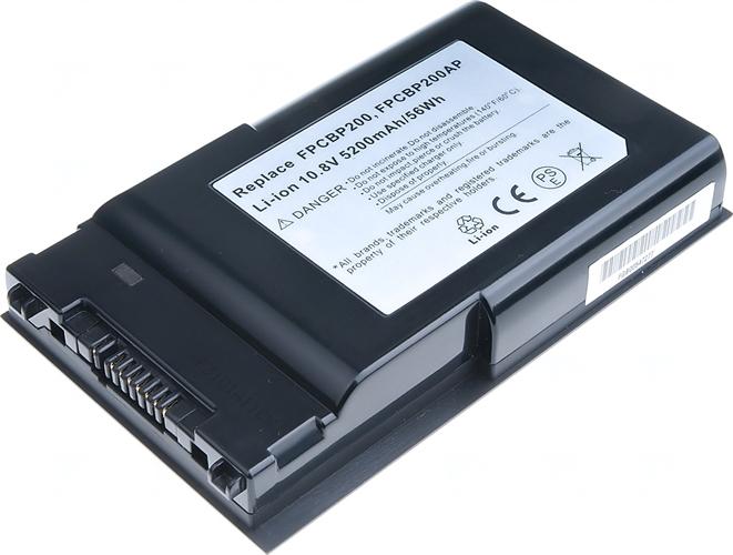 Baterie T6 power FPCBP200AP, FPCBP200, S26391-F795-L600, FPCBP215, FPCBP215AP, FPCBP280AP, FMVNBP171, S26391-F886-L100