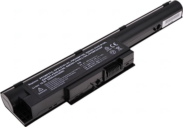 Baterie T6 power FPCBP274, FPCBP274AP, FPCBP323AP, S26391-F545-B100, S26391-F545-L100, S26391-F545-E100, FMVNBP195, CP516151-01