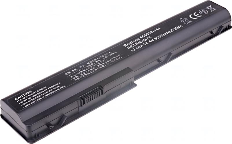 Baterie T6 power KS525AA, 464059-121, 464059-161, 464059-141, 464059-221, HSTNN-DB75, HSTNN-IB75, HSTNN-OB75, 480385-001, HSTNN-C50C, HSTNN-Q34C