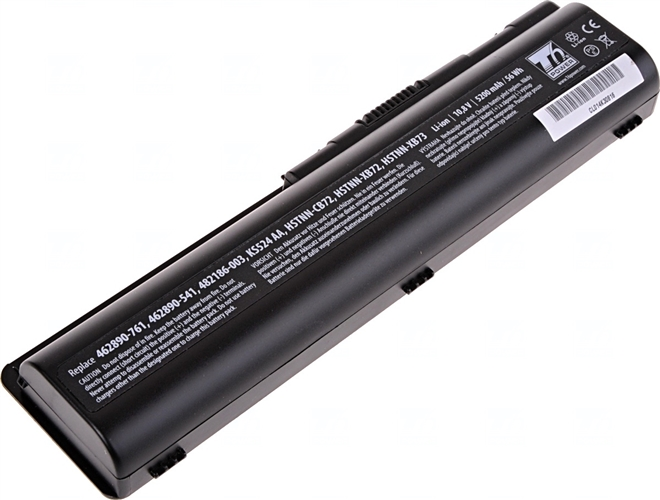 Baterie T6 power KS524AA, 484171-001, HSTNN-IB72, 462889-121, 462890-151, 485041-001,487296-001, HSTNN-CB72, HSTNN-CB73, HSTNN-DB72, HSTNN-LB72, EV06055, 498482-001