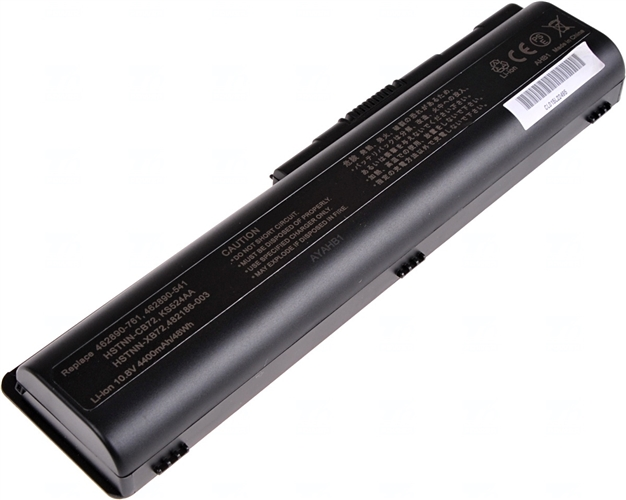 Baterie T6 power Basic KS524AA, 484171-001, HSTNN-IB72, 462889-121, 462890-151, 485041-001,487296-001, HSTNN-CB72, HSTNN-CB73, HSTNN-DB72, HSTNN-LB72, EV06055, 498482-001