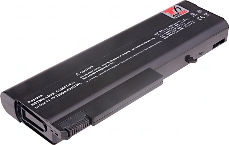 Baterie T6 power AT908AA, 458640-542, 532497-421, HSTNN-LB0E, HSTNN-UB69, HSTNN-XB0E, 583256-001, 586031-001, HSTNN-XB85, HSTNN-XB61, HSTNN-XB69