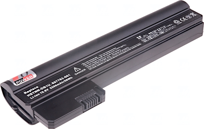 Baterie T6 power 607763-001, WQ001AA, HSTNN-DB1U, HSTNN-CB1U, 607762-001