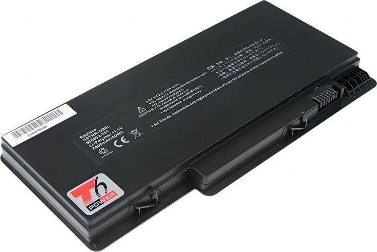 Baterie T6 power 577093-001, 538692-351, 538692-251, 538692-541, 580686-001, HSTNN-E02C, HSTNN-E03C, HSTNN-OB0L, VG586AA, FD06