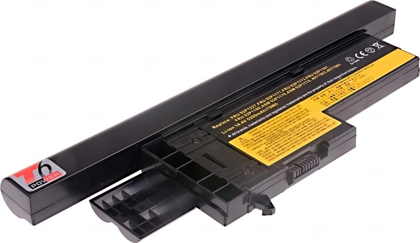 Baterie T6 power 40Y7003, FRU 92P1171, FRU 92P1173, ASM 92P1174, 40Y7001, FRU 92P1167, FRU 92P1169, FRU 92P1227