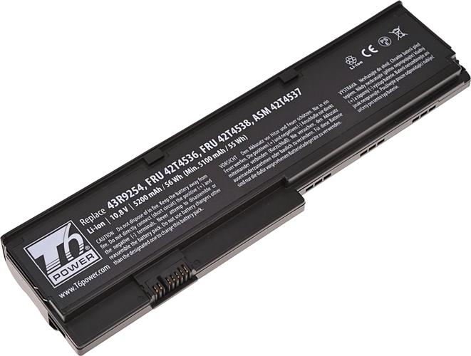 Baterie T6 power 43R9254, FRU 42T4536, ASM 42T4537, FRU 42T4538, FRU 42T4647, FRU 42T4648, 42T4834, 42T4543, 42T4837, 42T4836