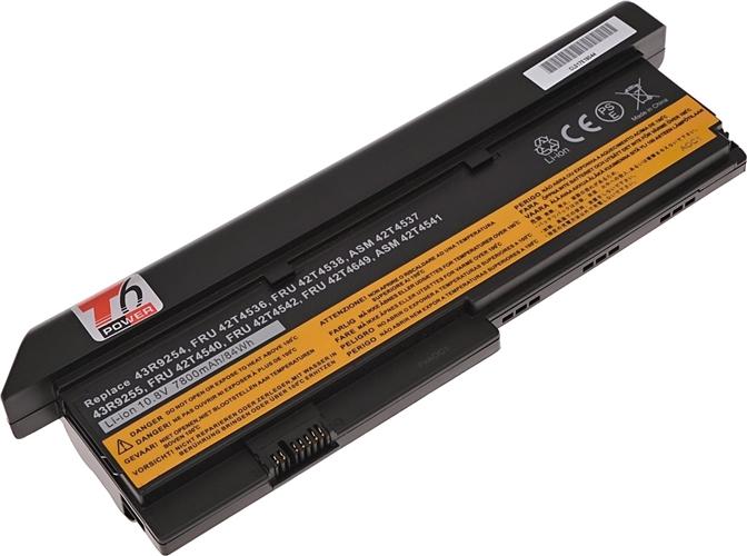 Baterie T6 power 43R9255, ASM 42T4541, FRU 42T4540, FRU 42T4542, FRU 42T4649, FRU 42T4650, 42T4834, 42T4694, 42T4696, 42T4823, 42T4825, 42T4837