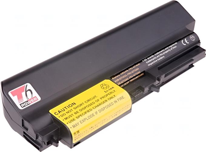 Baterie T6 power 43R2499, FRU 42T4645, FRU 42T4530, FRU 42T4532, ASM 42T4533, 41U3198, FRU 42T5263, ASM 42T5265, FRU 42T4548, FRU 42T4645, 42T4677, 42T4644