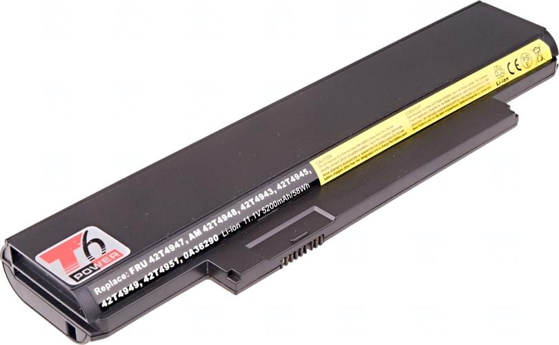 Baterie T6 power 42T4947, 42T4949, 42T4951, 42T4948, 0A36290, 0A36292, 42T4957, 42T4959, 42T4961, 42T4962, 42T4960, 42T4958, 42T4950, 42T4952
