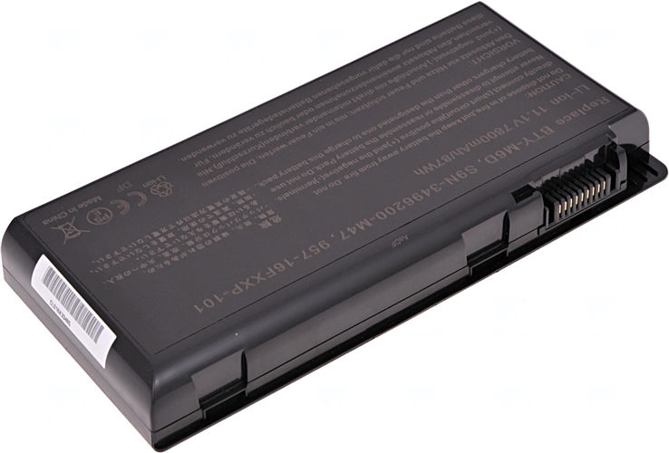 Baterie T6 power BTY-M6D 957-16FXXP-101, S9N-3496200-M47