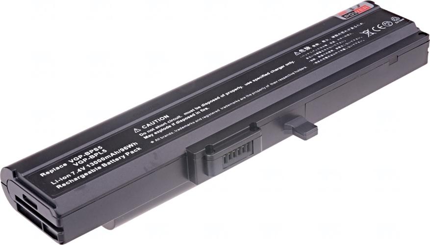 Baterie T6 power VGP-BPL5A, VGP-BPL5, VGP-BPS5, VGP-BPS5A