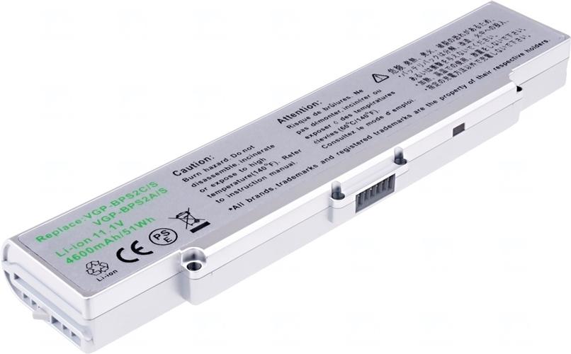 Baterie T6 power VGP-BPS2A/S, VGP-BPS2C/S, VGP-BPS2C/S/E