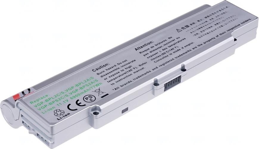 Baterie T6 power VGP-BPL2A/S, VGP-BPS2A/S, VGP-BPL2C/S, VGP-BPS2C/S, VGP-BPS2C/S/E
