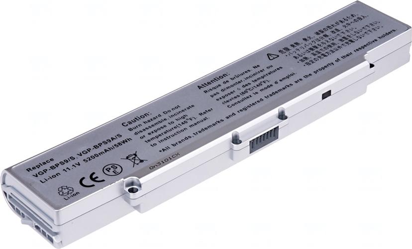 Baterie T6 power VGP-BPS9/S, VGP-BPS9A/S