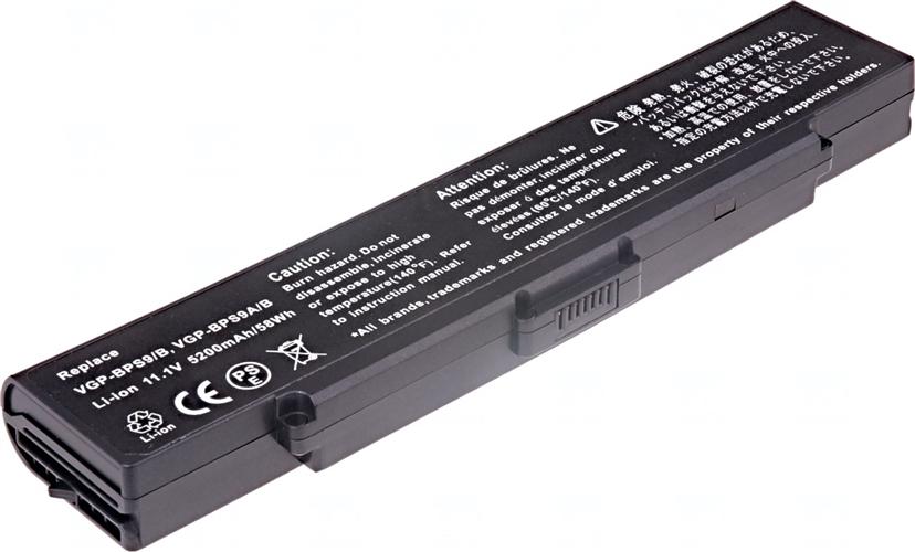 Baterie T6 power VGP-BPS9/B, VGP-BPS9A/B, VGP-BPS9B, VGP-BPS10