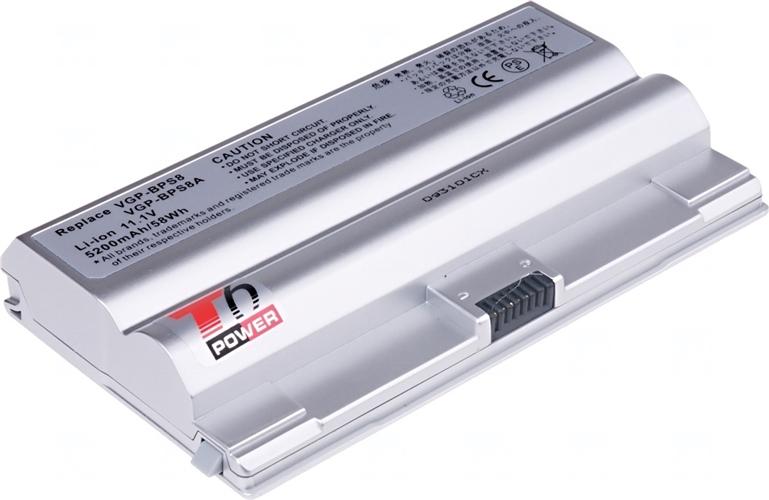 Baterie T6 power VGP-BPS8, VGP-BPS8A, VGP-BPS8/S