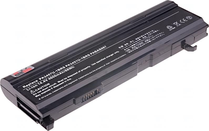 Baterie T6 power PA3457U-1BRS, PA3451U-1BRS, PABAS067