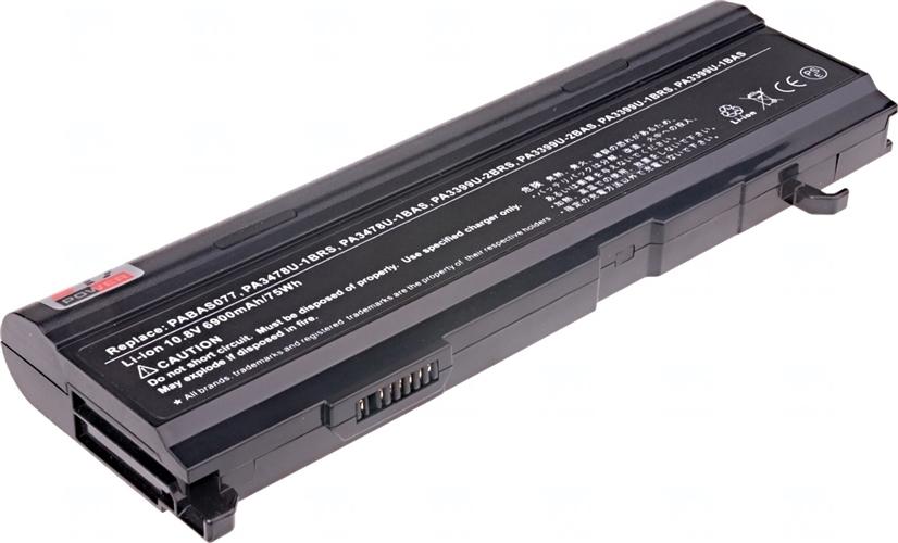 Baterie T6 power PA3399U-1BAS, PA3399U-1BRS, PA3399U-2BAS, PA3399U-2BRS, PA3478U-1BAS, PA3478U-1BRS