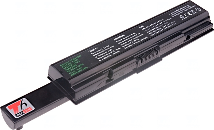 Baterie T6 power PABAS098, PABAS099, PA3534U-1BAS, PA3535U-1BAS, PA3534U-1BRS, PA3535U-1BRS