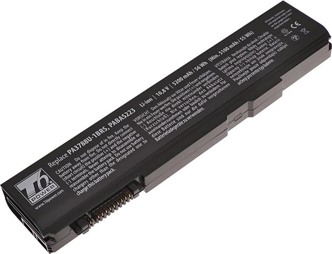 Baterie T6 power PA3788U-1BRS, PA3788U-1BAS, PABAS223, PABAS222, PABAS221, PA3787U-1BRS, PA3786U-1BRS
