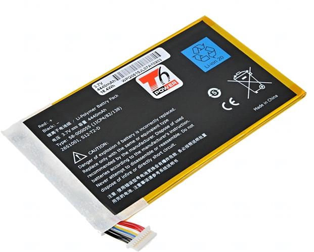 Baterie T6 power S12-T2-D, 26S1001, DR-A015, 58-000035, 58-000055, 26S1005